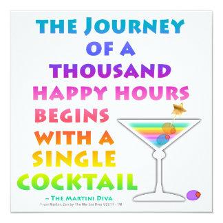 MARTINI ZEN - Happy Hour Invitation