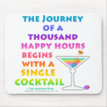 MARTINI ZEN - Happy Hour Journey Mousepad