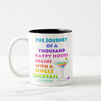 MARTINI ZEN Happy Hour Journey Mug