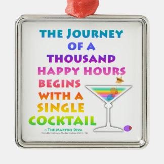 MARTINI ZEN - Happy Hour Journey Ornament