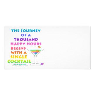 MARTINI ZEN - Happy Hour Journey Photo Card