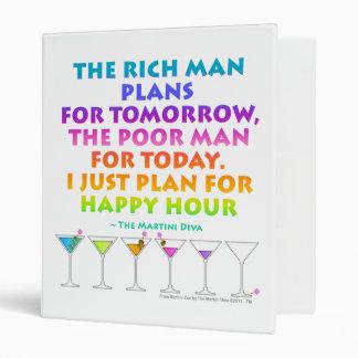 MARTINI ZEN - Plan for Happy Hour Binder