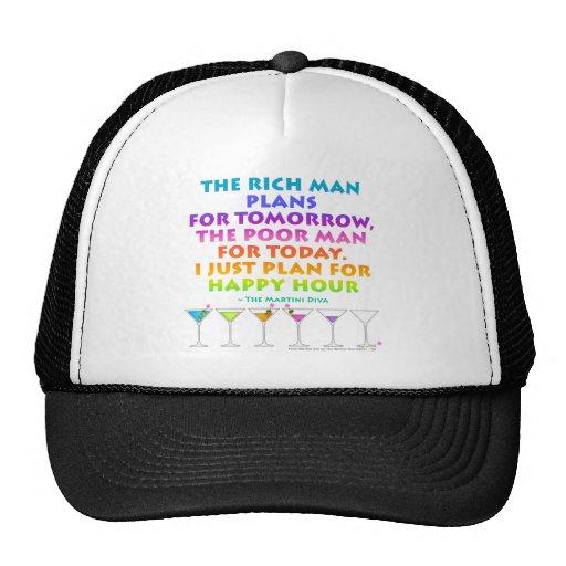 MARTINI ZEN - Plan for Happy Hour  Hat