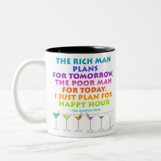 MARTINI ZEN - Plan for Happy Hour  Mug
