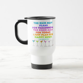 MARTINI ZEN - Plan for Happy Hour Travel  Mug