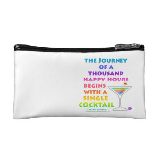 MARTINI ZEN - THOUSAND HAPPY HOURS BAGGETTE BAG COSMETIC BAG