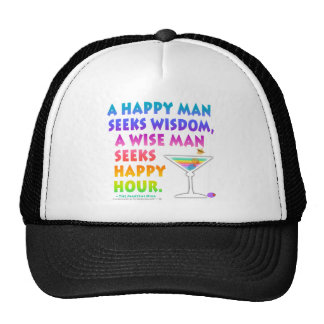 MARTINI ZEN Wise Man Seeks Happy Hour Hat