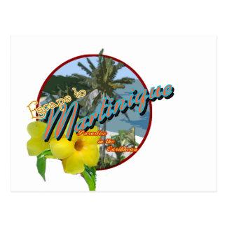 martinique2 tarjeta postal