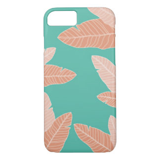 Martinique Banana leaf pastels iPhone case