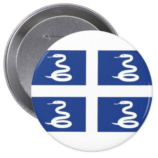 Martinique Pinback Buttons