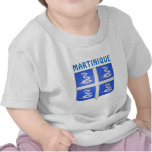 Martinique Coat Of Arms T-shirts