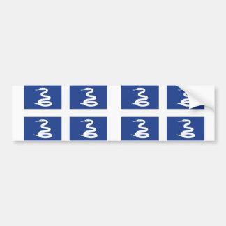 Martinique Flag Bumper Sticker