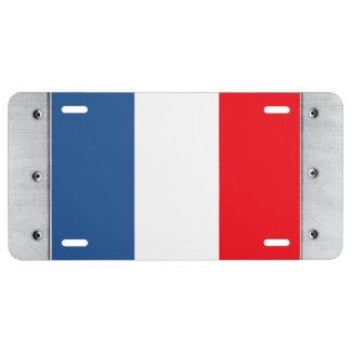 Martinique Flag License Plate