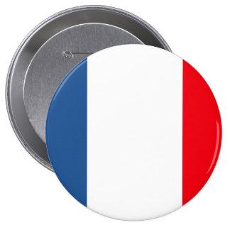 Martinique Flag Pinback Button