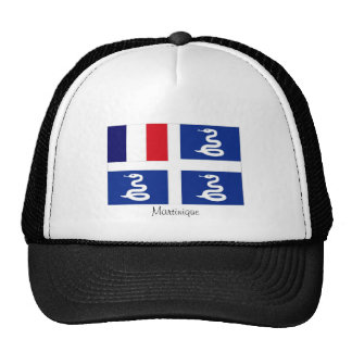 Martinique flag souvenir hat