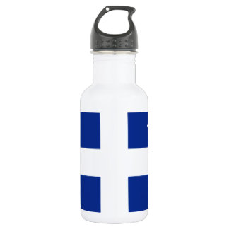 Martinique Flag Stainless Steel Water Bottle