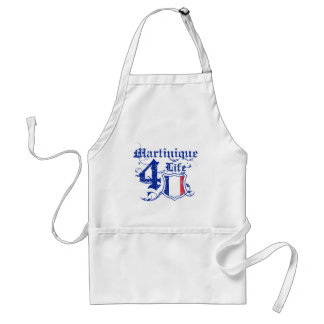Martinique For life Adult Apron