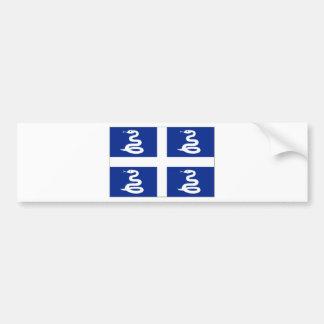 Martinique (France) Flag Car Bumper Sticker