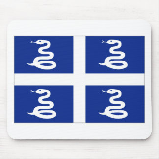 Martinique (France) Flag Mouse Pad