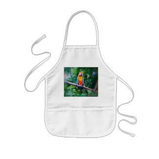Martinique Macaw Aprons