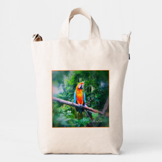 Martinique Macaw Duck Bag