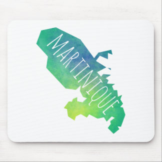 Martinique Mouse Pad