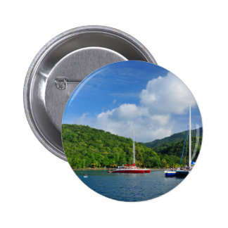 Martinique Pinback Button