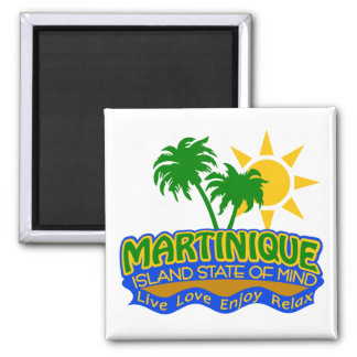 Martinique State of Mind magnet