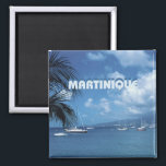 """Martinique Travel Photo Souvenir Fridge Magnets<br><div class=""""desc"""">Tip: dated magnets are a fun way to keep a chronology of your travels and Zazzle makes it easy to add a date.</div>"""