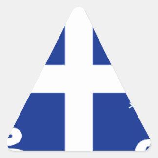 Martinique Triangle Sticker