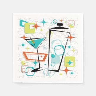 Martinis A Go-Go Cocktail Napkins