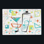 """Martinis A Go-Go Placemats<br><div class=""""desc"""">Jazz up your dining table with this cool martini design!</div>"""