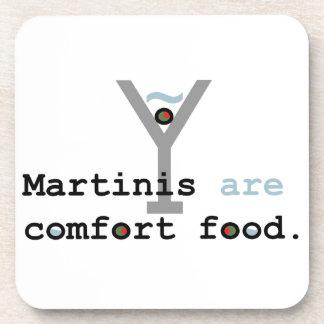 Martinis are Comfort Food Beverage Coaster