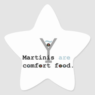 Martinis are Comfort Food Sticker