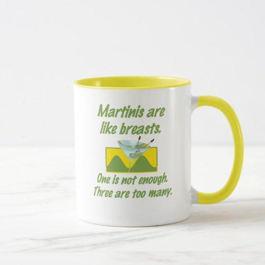 Martinis/Breasts Mug