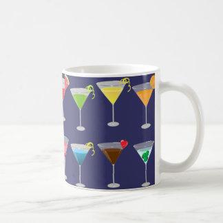 Martinis Classic White Coffee Mug