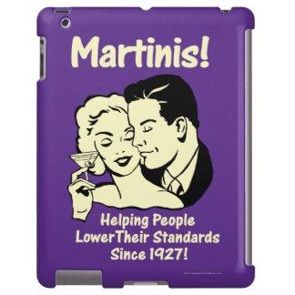 Martinis: Estándares más bajos de ayuda Funda Para iPad