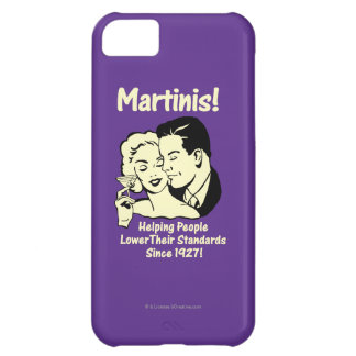 Martinis: Helping Lower Standards iPhone 5C Case