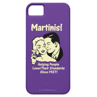 Martinis: Helping Lower Standards iPhone SE/5/5s Case