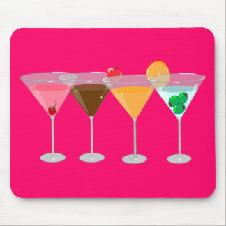 MARTINIS MOUSE PAD