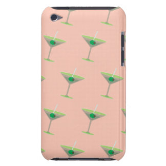 martinis peach barely there iPod case