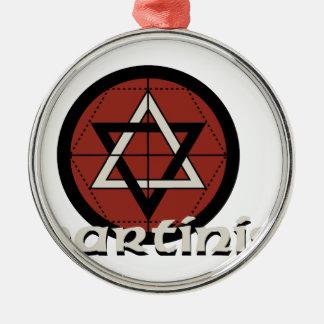 Martinist Metal Ornament
