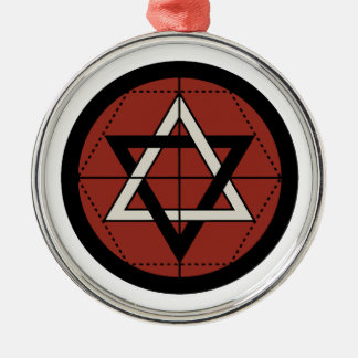Martinist Seal Metal Ornament