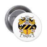 Martins Family Crest Pins