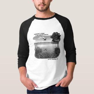 Martin's Pond Baseball Shirt
