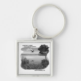 Martin's Pond Key Chain