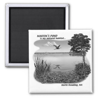 Martin's Pond Magnet