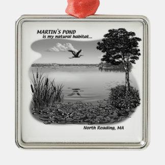 Martin's Pond Ornament