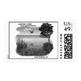 Martin's Pond Stamp