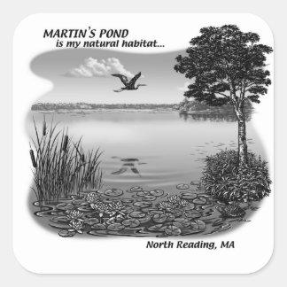 Martin's Pond Stickers